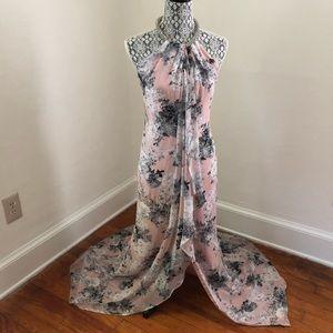 Calvin Klein Floral Gown